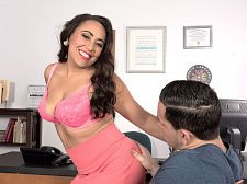 Gabriella Sky's awesome blow job skills
