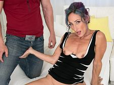 Sadie's first-ever porn video: That babe acquires ass-fucked!